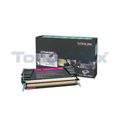 LEXMARK C734DN RP TONER CART MAGENTA 6K